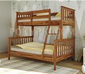 Фото в Мебель и интерьер Мебель для спальни Двухъярусная кровать «Барселона» - это простота в Москве 30000