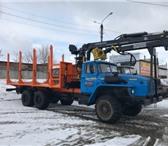 Фото в Авторынок Лесовоз (сортиментовоз) Сортиментовоз на шасси Урал 2008 г.в. Шасси в Москве 3616000