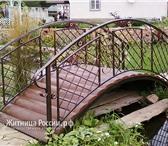 Foto в Строительство и ремонт Ландшафтный дизайн Продам кованый мостик размер 4 м на 2 м цена в Старом Осколе 30000