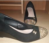 Фотография в Одежда и обувь Женская обувь Продам туфли :1)черные иск.замша одевались в Чите 350
