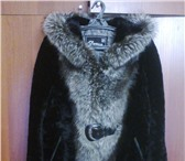 Фото в Одежда и обувь Женская одежда продаю мутоновую шубу с капюшоном отделка в Набережных Челнах 10000