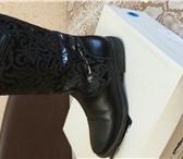 Изображение в Для детей Детская обувь Продам осенние кожаные сапоги для девочки в Магнитогорске 500