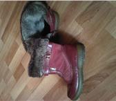 Фото в Одежда и обувь Детская обувь Продам детские сапожки, зимние р-р 31, на в Омске 400