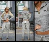 Foto в Одежда и обувь Спортивная одежда модный костюм VDP c стразами Размеры S M в Москве 3800