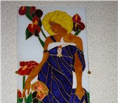 Фото в Хобби и увлечения Коллекционирование заливные витражные картины на стекле выполнены в Краснодаре 3000