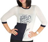 Фото в Одежда и обувь Женская одежда Продам джемпер молочного цвета, нежный, теплый в Хабаровске 700