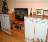 Foto в Мебель и интерьер Мебель для гостиной Продам стенку в гостиную из лдсп+ зеркало в Энгельсе 25000