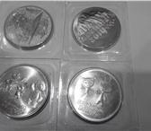 Фотография в Хобби и увлечения Коллекционирование Продам олимпийские монеты 4 штуки(горы, факел, в Тольятти 400