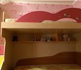 Изображение в Мебель и интерьер Мебель для детей Продам кровать-чердак 1мX2м, высота: 1,5м в Пскове 14000