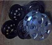 Изображение в Авторынок Колесные диски Диски с колпаками R15 от KIA 4х114,3 - 4 в Москве 4000