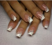 Foto в Красота и здоровье Косметические услуги Наращивание ногтей гелем от 500 руб. На формах, в Мурманске 500