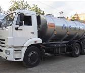 Фото в Авторынок Автоцистерна пищевая Молоковоз (водовоз) на шасси Камаз 65115, в Москве 4200000