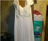 Foto в Одежда и обувь Свадебные платья свадебное платье цв шампань р 48 50 одевали в Смоленске 3000