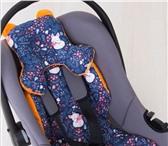 Фото в Для детей Детские коляски Мягкий матрасик-вкладыш в анатомической подушкой в Санкт-Петербурге 636