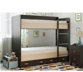 Фотография в Мебель и интерьер Мебель для детей Срочно продам двухъярусную кровать,с матрасами.Цвет в Барнауле 7000