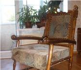 Изображение в Мебель и интерьер Столы, кресла, стулья КРЕСЛО РУЧНОЙ   РАБОТЫ.ЭКСКЛЮЗИВ.ДЕР ЕВО-МАССИВ.СЕДУШКА-П в Омске 3500