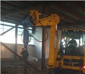 Фотография в Авторынок Буровая установка Аренда Ямобура на базе погрузчика JCBцена в Уфе 1600