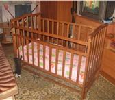 Foto в Для детей Детская мебель Продам детскую кроватку с качалкой и ортопедический в Екатеринбурге 3000