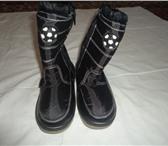 Фотография в Для детей Детская обувь Продам сапожки дутыши болонь детские новые в Архангельске 500