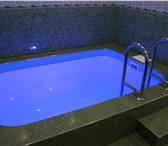 Фотография в Развлечения и досуг Бани и сауны Кристально чистый бассейн с подсветкой и в Изобильный 0