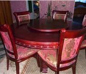 Фотография в Мебель и интерьер Кухонная мебель продам деревянный стол обеденный с пятью в Вологде 25000