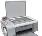 Изображение в Компьютеры Факсы, МФУ, копиры Продается МФУ(принтер,сканер,копир).HP c4183 в Оренбурге 2000