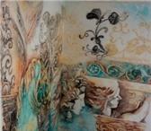Foto в Строительство и ремонт Дизайн интерьера Художественная роспись стен с рельефом.Барельефы.Размер,сюжет в Москве 0
